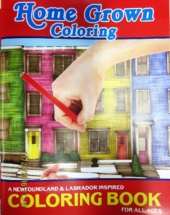 Home Grown Coloring Book