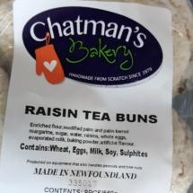 Raisin Tea Buns