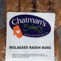 Molasses Rasin Buns