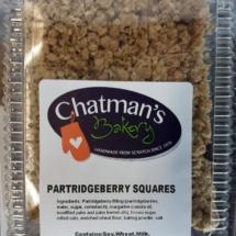 Partridgeberry Squares