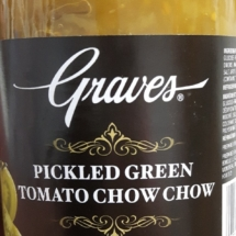 Graves Pickled Green Tomato Chow Chow