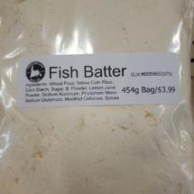 Fish Batter