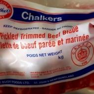 Trimmed Salt Beef Vac Pak