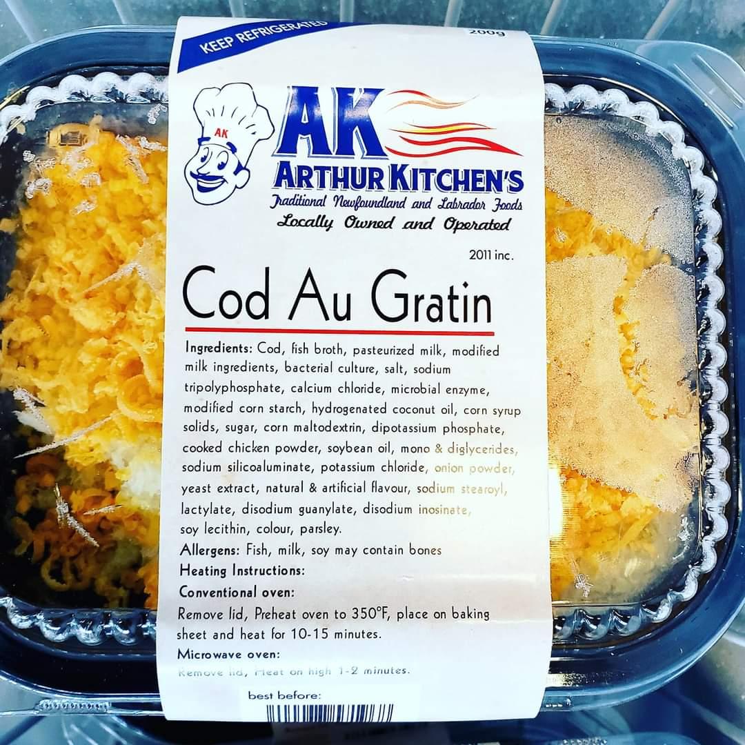 Cod au Gratin | Recipe | Food recipes, Newfoundland